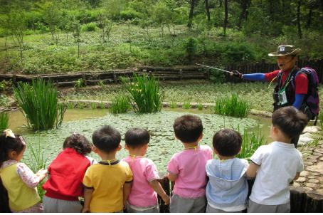 초안산근린공원 생태연못, 자연생태 체험의 장으로 변신