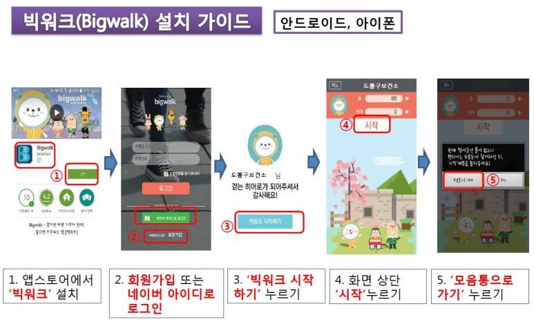 걷기만 하면 기부되는 어플 '빅워크(Big Walk)'