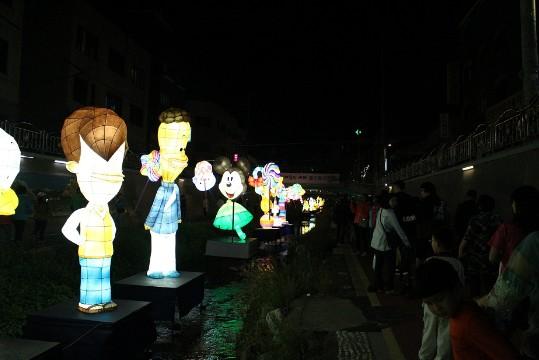 2017 우이천 벚꽃길 등(燈) 축제 개최