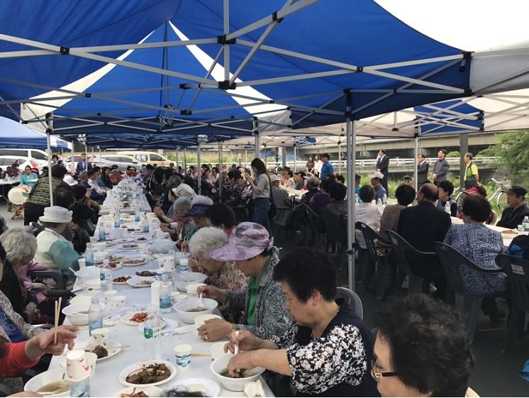 대한적십자사 도봉2동 봉사회 '가정의달 맞이 경로잔치' 개최